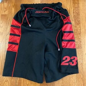 VTG Jordan Cat Scratch Black Shorts XL 2004 RARE